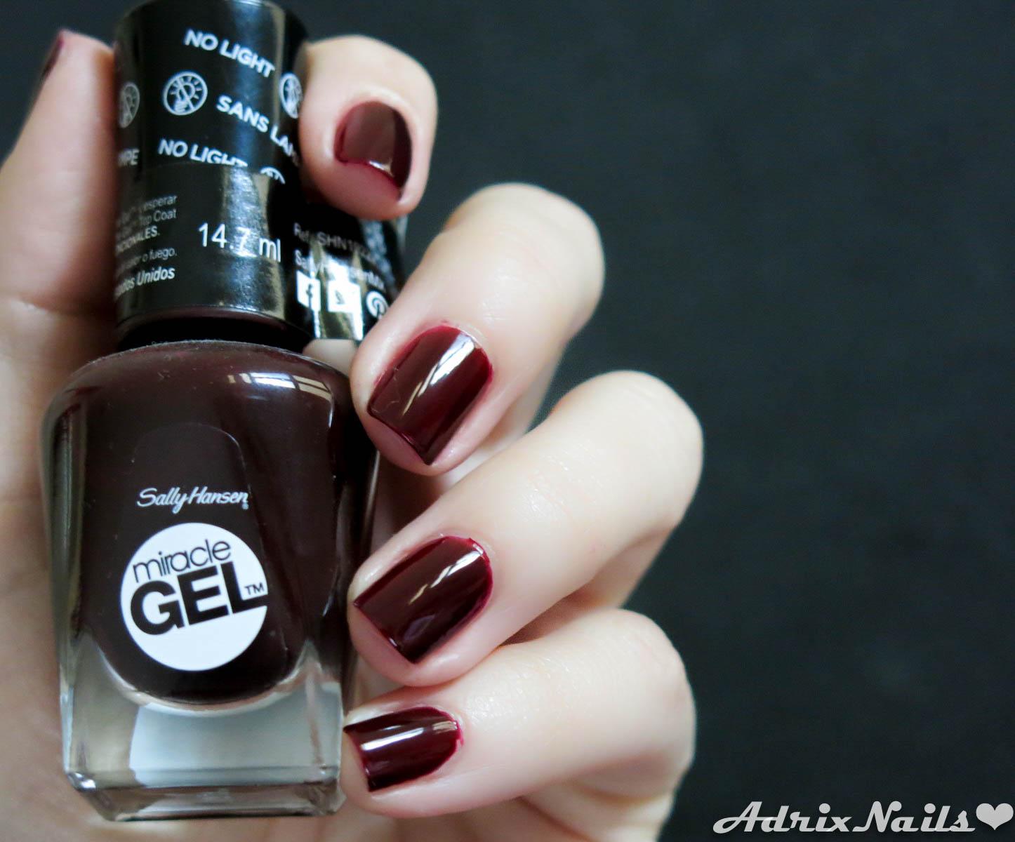Marsala – El color del año – | Adrix Nails: Uñas, barnices, nail art!♥