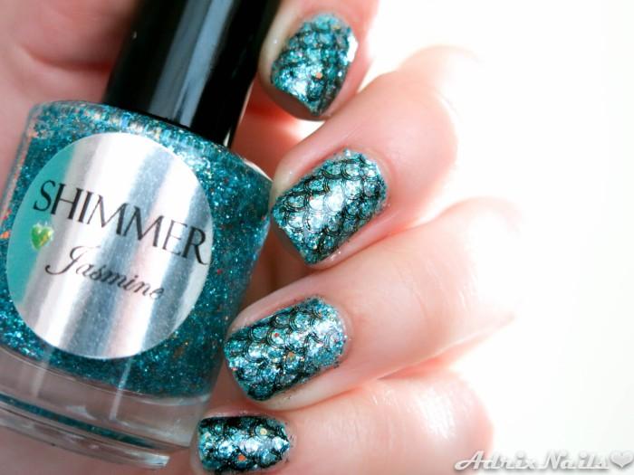 Shimmer Polish - Jasmine-7