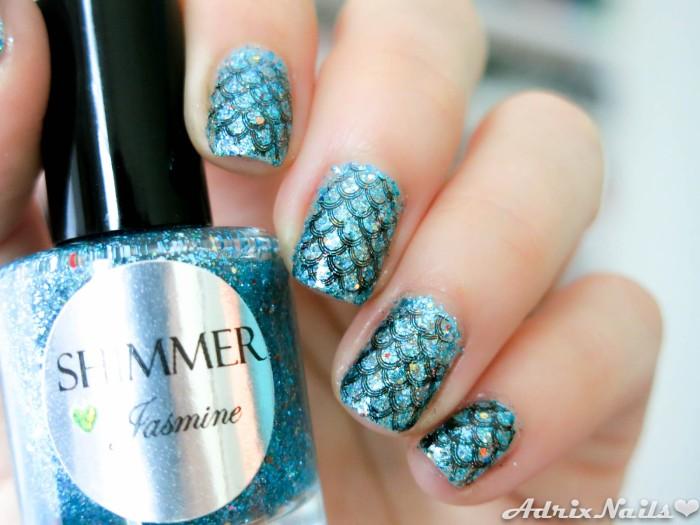 Shimmer Polish - Jasmine-9