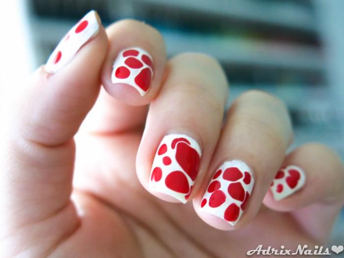 Blobbicure blanco y rojo-3