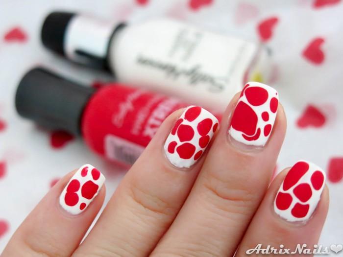 Blobbicure blanco y rojo-6