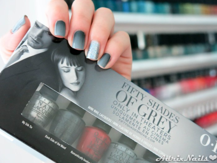 OPI - Fifty Shades Of Grey Gradient-14