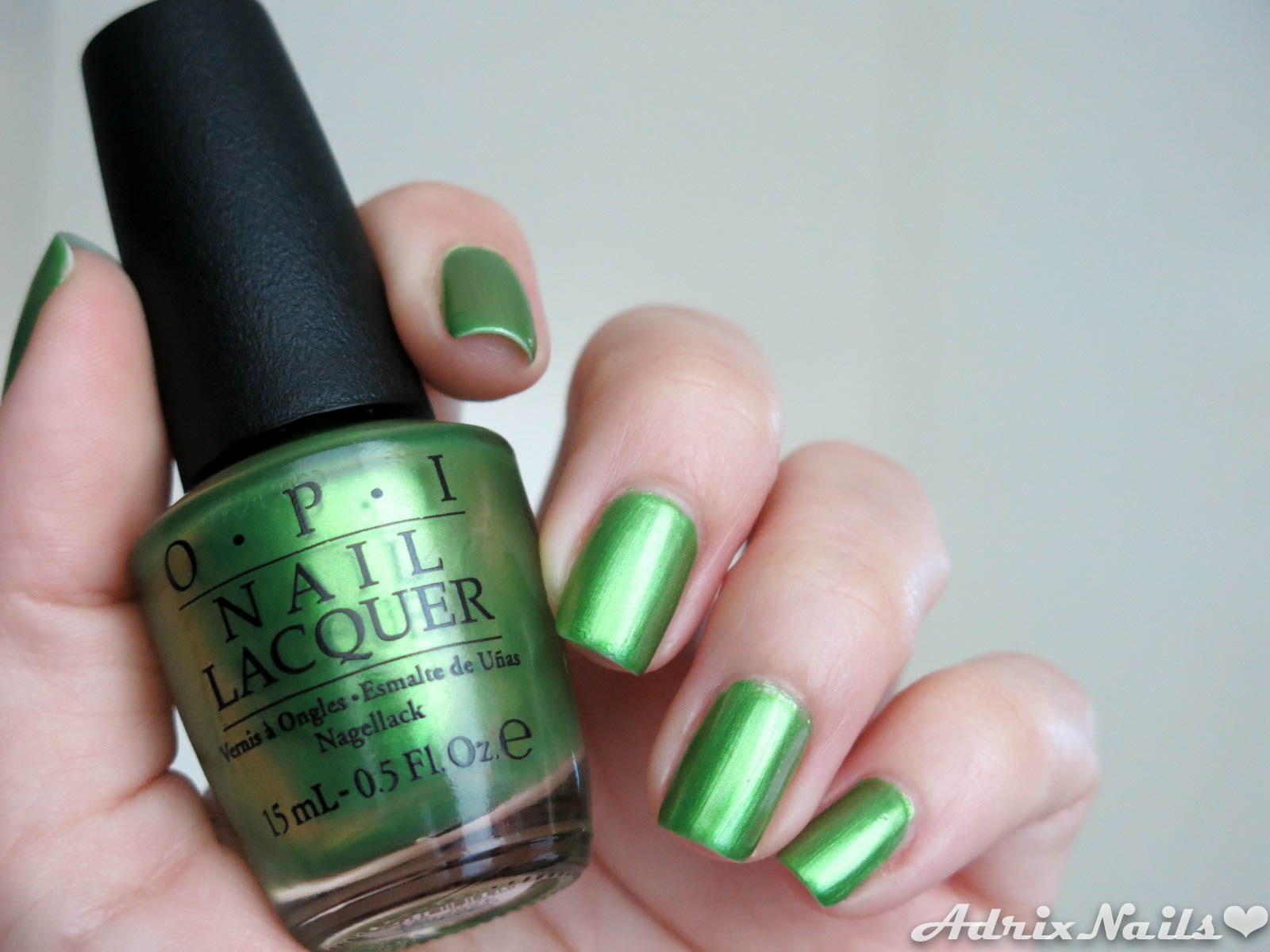Colores: OPI – My Gecko Does Tricks – Colección Hawaii | Adrix Nails ...
